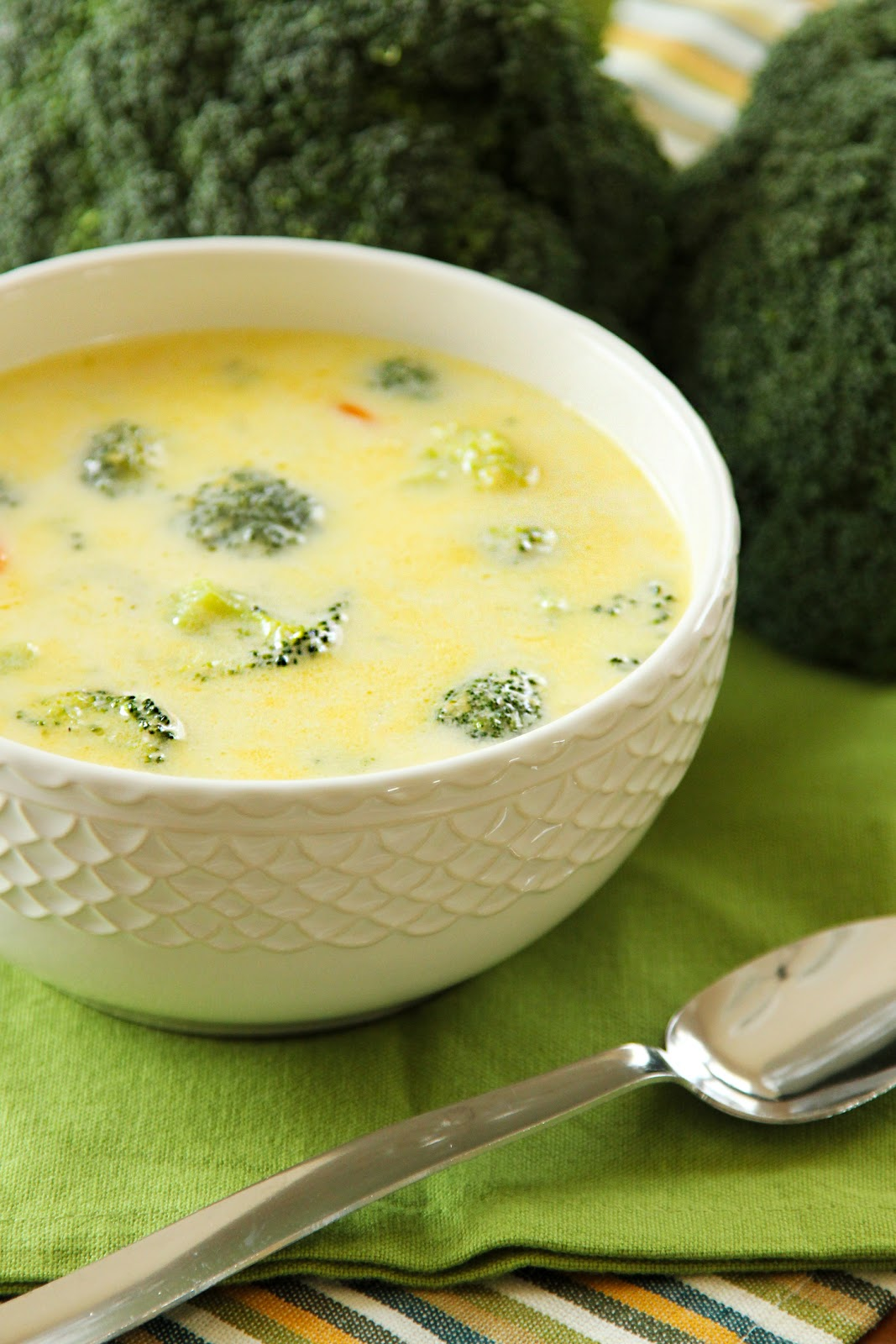 Life Made Simple: Cheesy Broccoli Soup