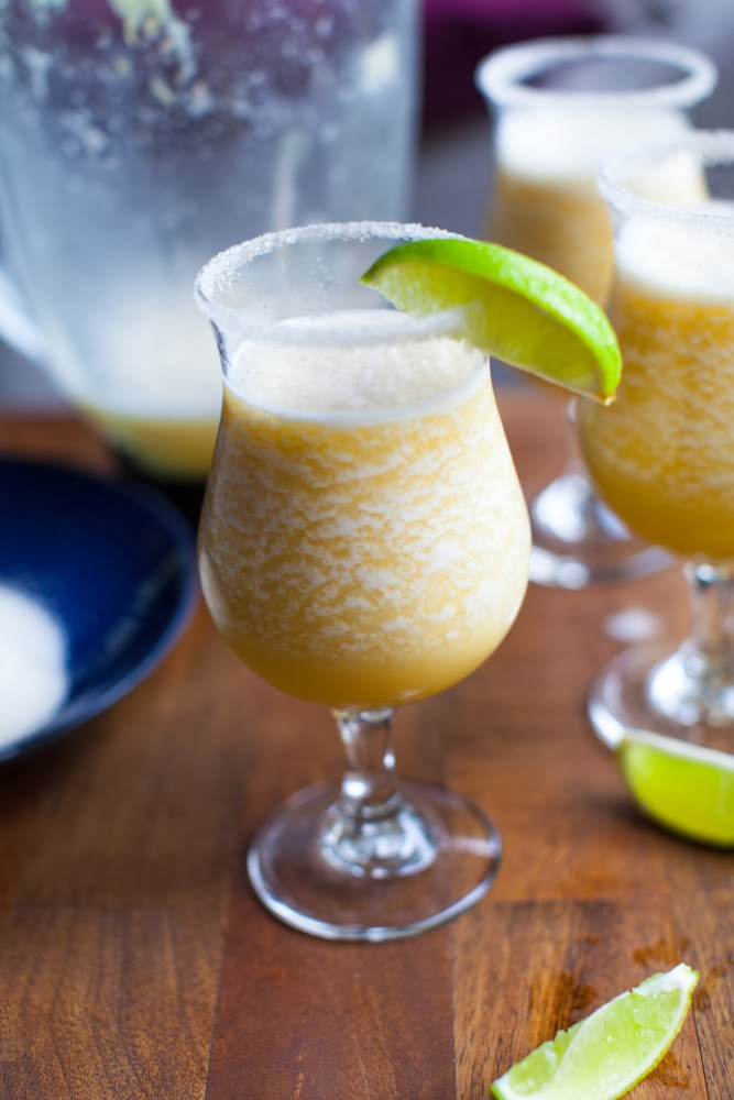 Mock margarita.  Non-alcoholic drink for your next Mexican party.