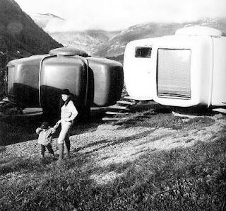 Casas plásticas modulares de los años 70 en Suiza