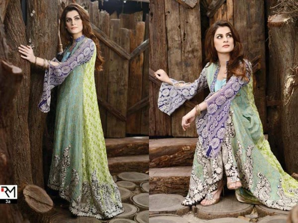 Rozina Munib 2015 winter dresses