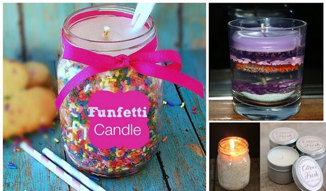 Crafty Candles You Can Make Yourself