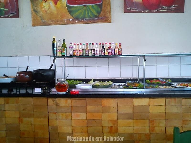 Di Ana Restaurante: Buffet de Saladas