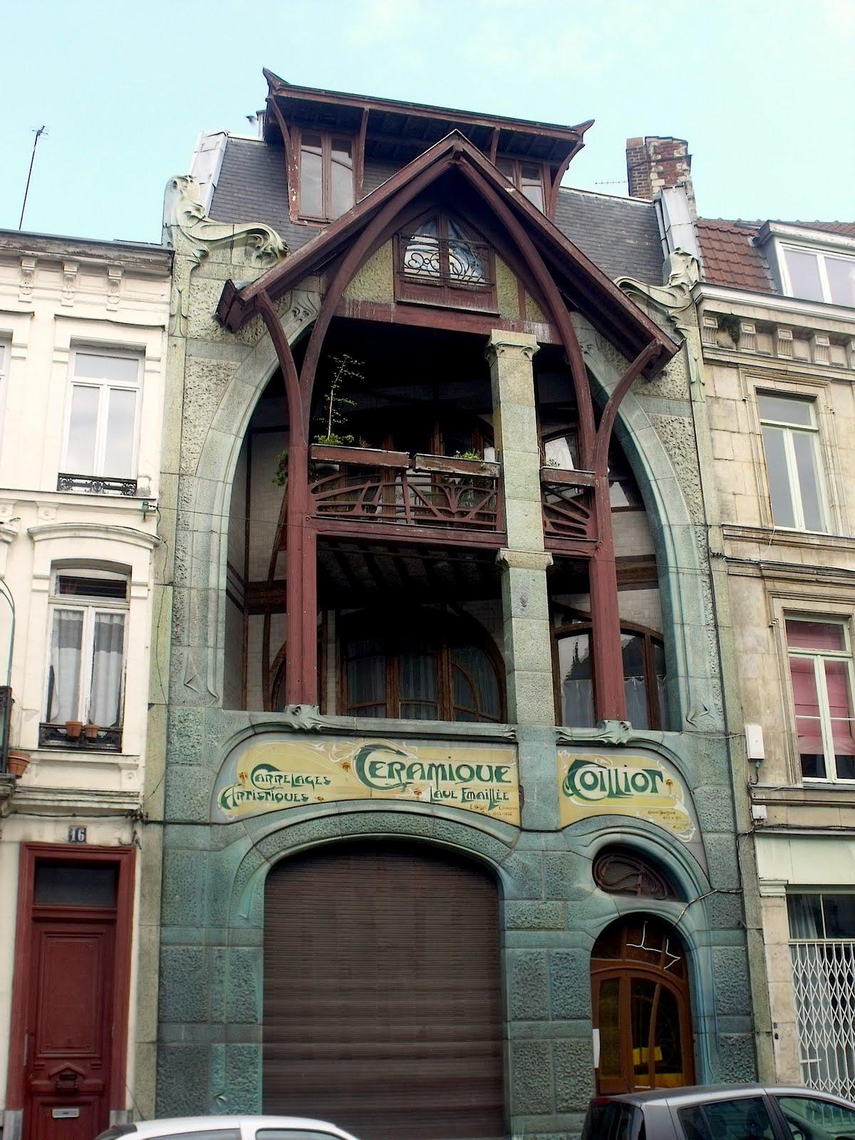 Lille l 39 art nouveau et l 39 art d co lille centre rue de for 82 rue brule maison lille