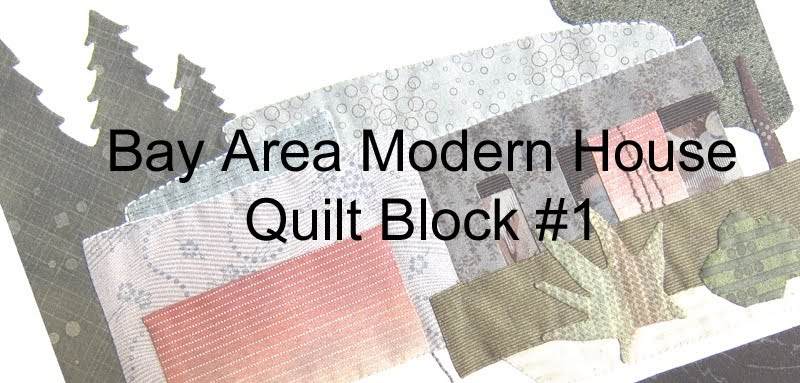 Quilt otaku modern house block 1 pattern now available for Modern house quilt block