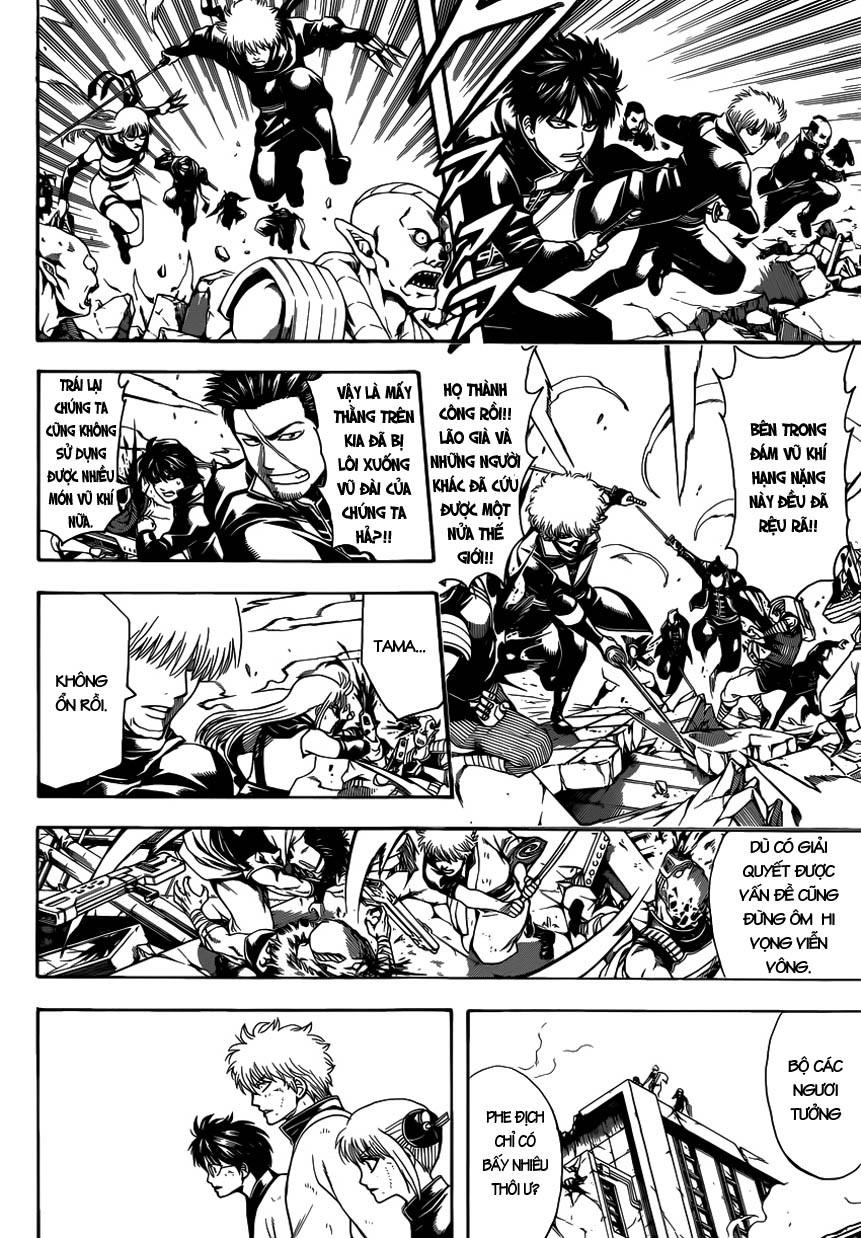 Gintama Chap 611 - Trang 8