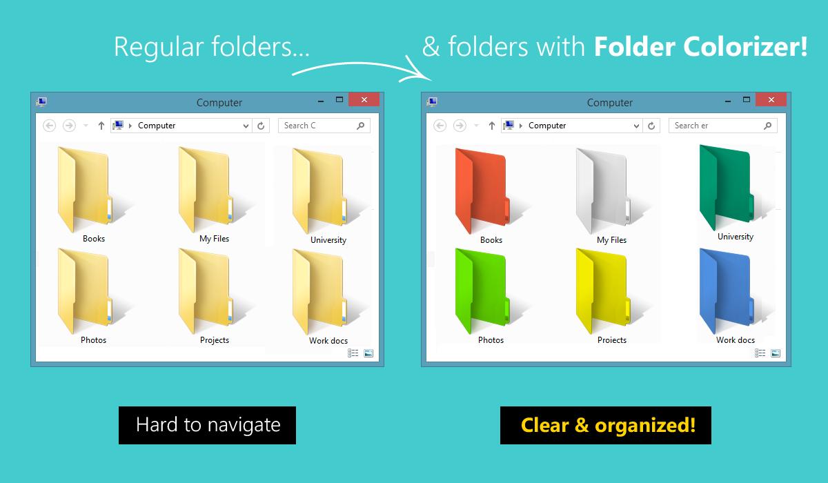 Trik Mengubah Warna Folder Pada Sistem Operasi Windows