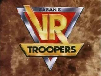 Saban's VR Troopers 90's Title Logo