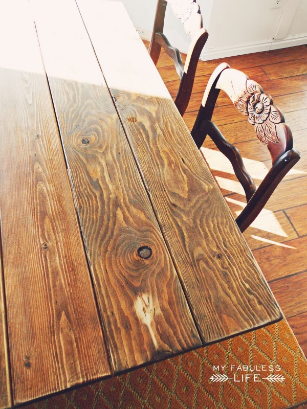 how to build a farm table