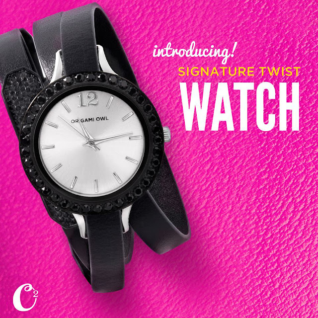 Origami Owl Signature Twist Watch available at StoriedCharms.origamiowl.com