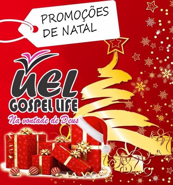 Mês de promoções na Livraria UEL Gospel Loja 13, Shoping Liberdade-Ipiaú