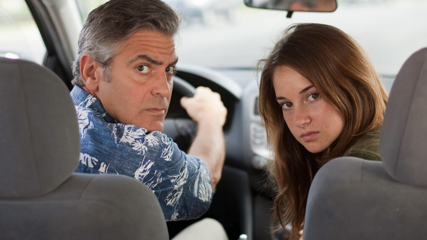Fondo George Clooney y Shailene Woodley en The Descendants