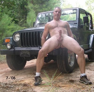 Naked Gay Men Driving Cars In Trucks