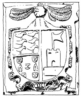 Escudo de la casa Cuervo-Arango en Puentevega