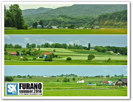 Furano Japan - Breathtaking views on the road