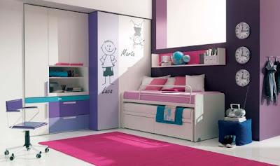 Desain Kamar Tidur Anak Perempuan Terbaru