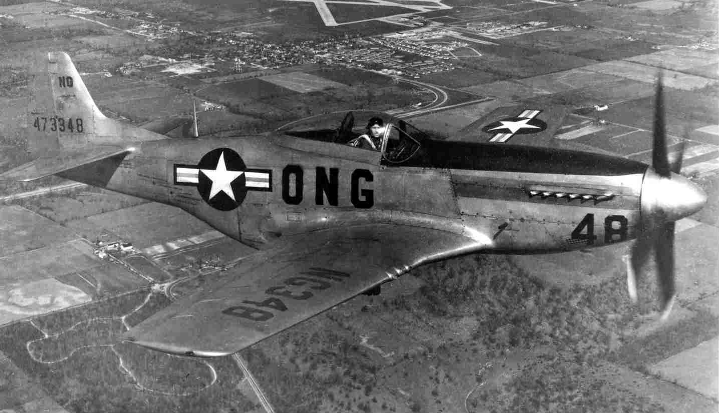 The F 51 Mustang was the one of the best fighters in US Army during the World War II