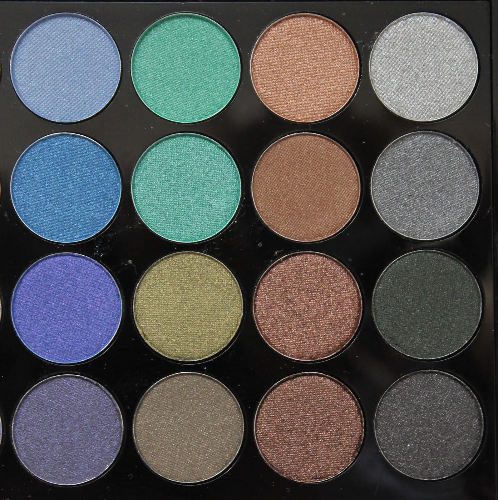 Coconikmakeup mermaids forever makeup revolution - Colores verdes azulados ...