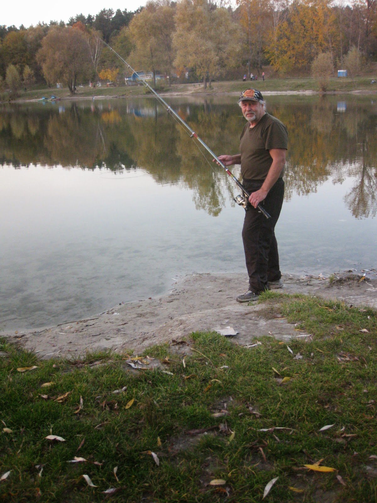 возле Синего озера в Киеве