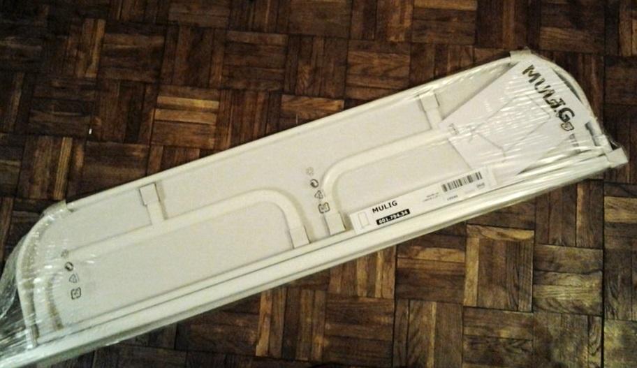 Wieszak Ikea Mulig złożony