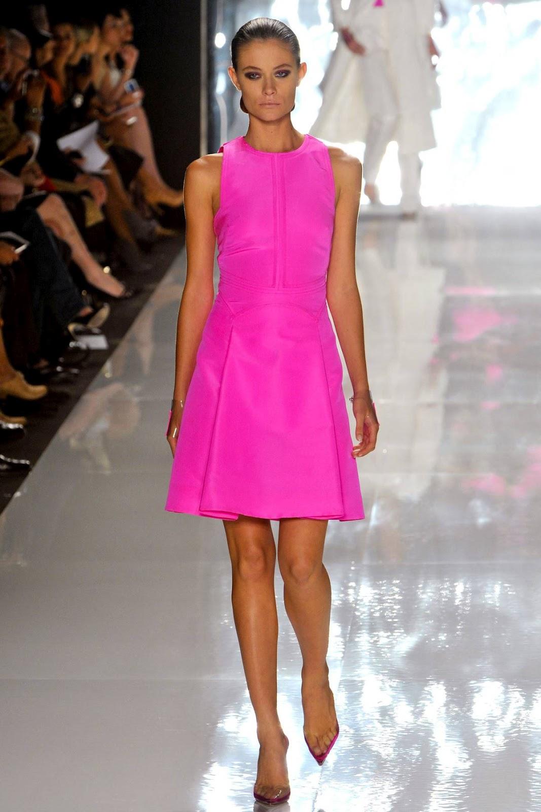 Catherine Malandrino Pink Jumpsuit