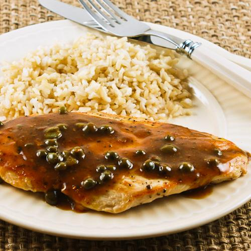 These Sauteed Chicken Cutlets with Sage and Capers are easy for a work ...