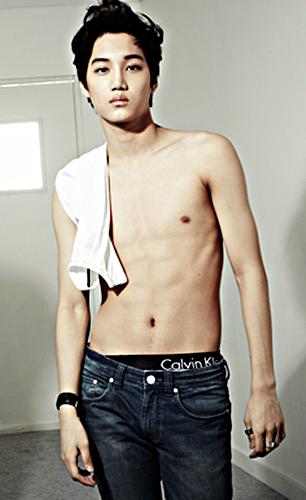 Kris Exo Abs Most handsome E...