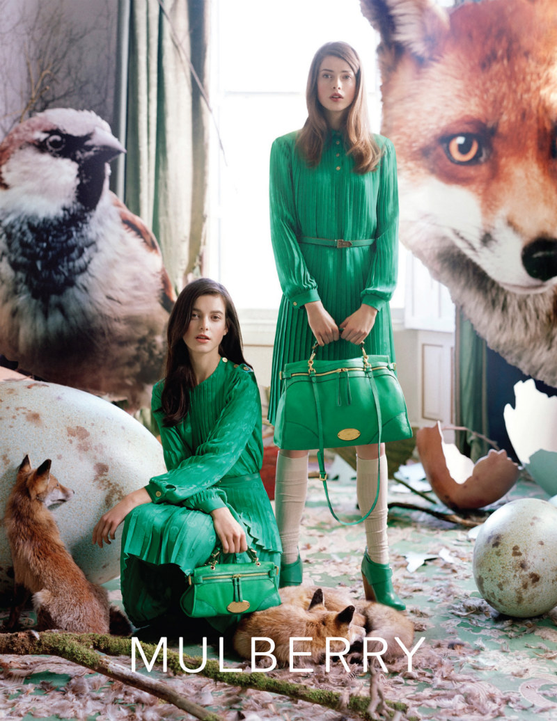 Mulberry Autumn/Winter 2011 Campaign by Tim Walker starring Tati Cotliar and Julia Saner
