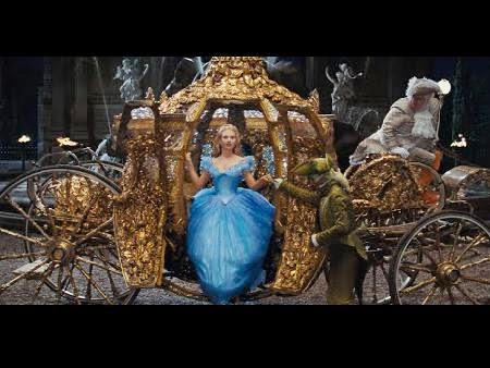 Cinderella 2015 Movie Disney Kereta Kuda Emas