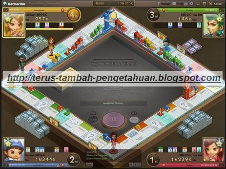 Download Game Monopoly Online Modoo Marble  Indonesia