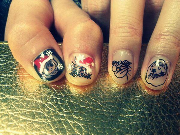 Fabulously Filorean Hong Ki And Heechul Get Festive With Nails