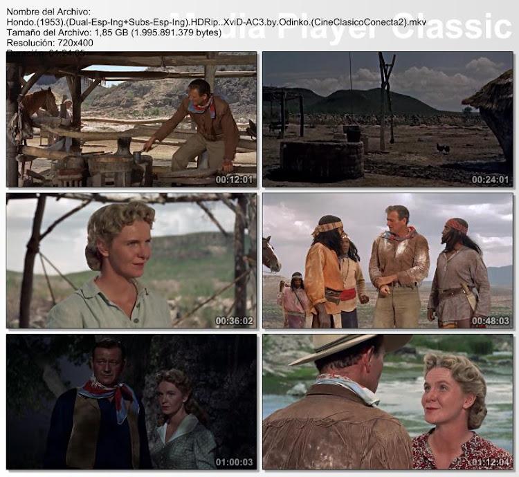 Hondo 1953 - Capturas de pantalla / Secuencias de la película