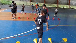 Treinamento de força na base do Futsal