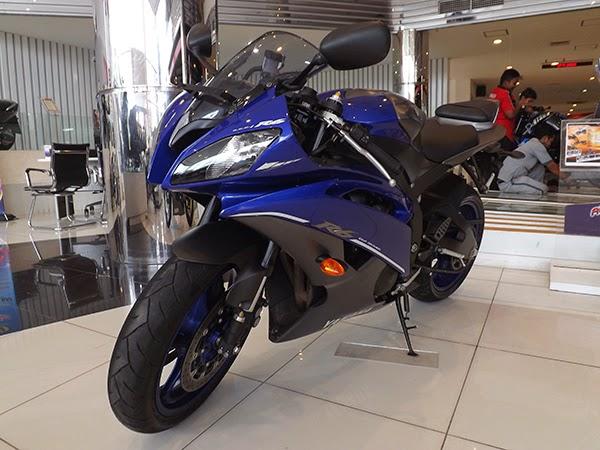 Galeri Yamaha R6 Salah Satu Motor CBU Yang Dijual Yamaha