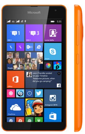 harga dan spesifikasi Microsoft Lumia 535 terbaru 2015