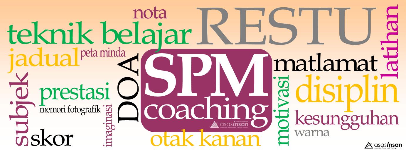 Coaching Teknik Belajar SPM 2014