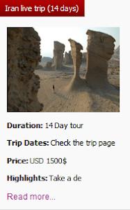 Iran Live trip