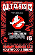Local Talent Showcase: Cult Classics: GHOSTBUSTERS-Friday March 27th