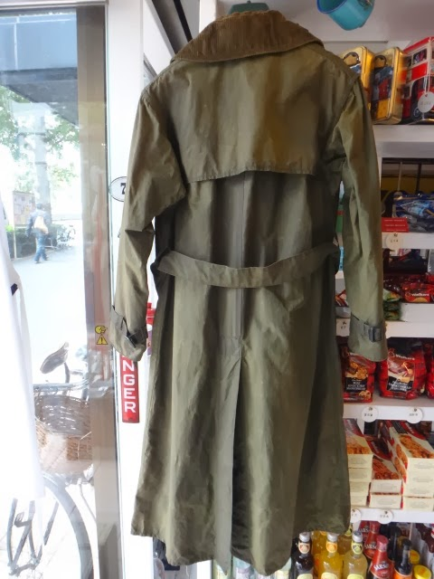 British Equipment Publishing Blog Vintage Barbour Trench