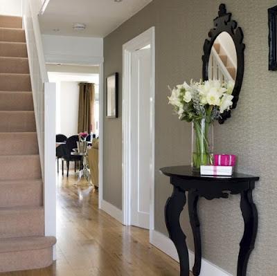 Decoraciones y Hogar Espejos en el pasillo del hogar