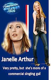 Janelle country singer Arthur