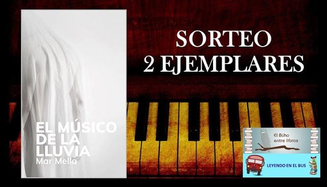 "SORTEO ""EL MÚSICO DE LA LLUVIA"""