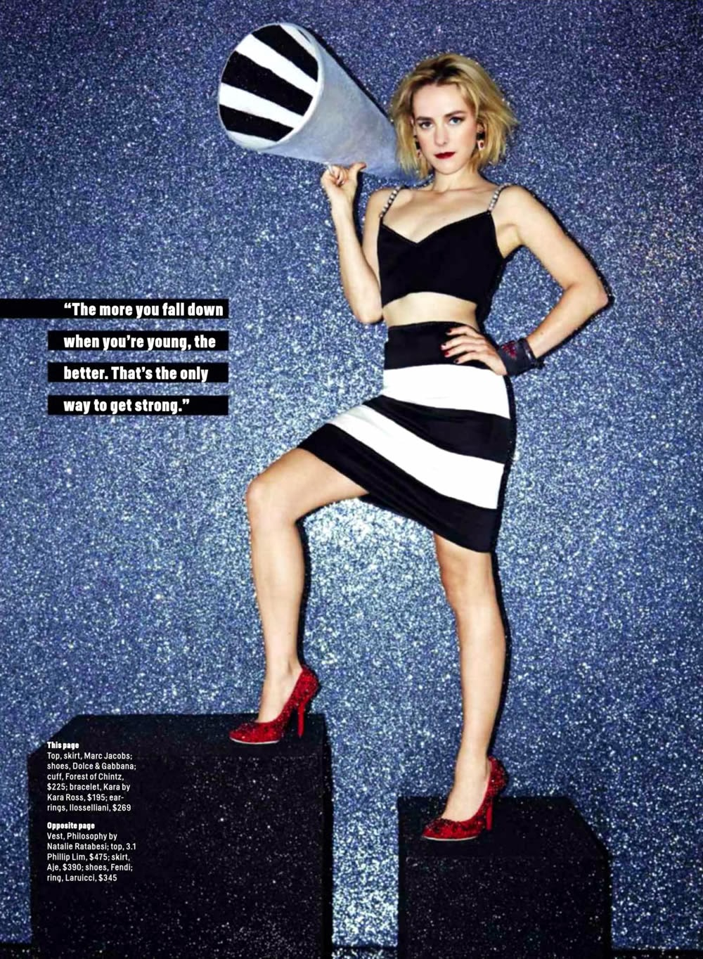 Jena Malone By Bella Howard Magazine Photoshoot For Cosmopolitan Us