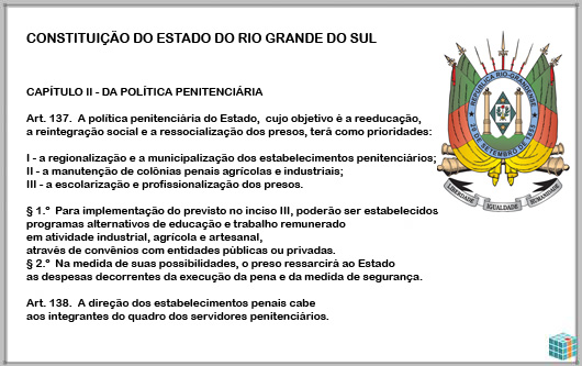POLÍTICA PENITENCIÁRIA DO RS