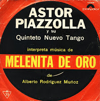 Capa do álbum Melenita de Oro - 1965