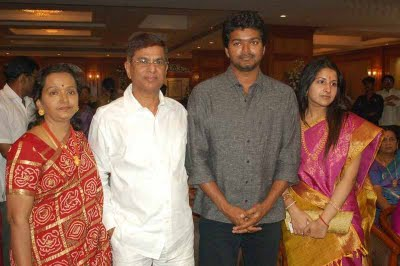Vijay's father and mother