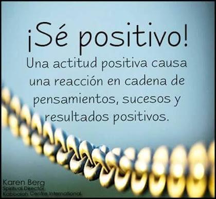 * Pensando en Positivo * 👍