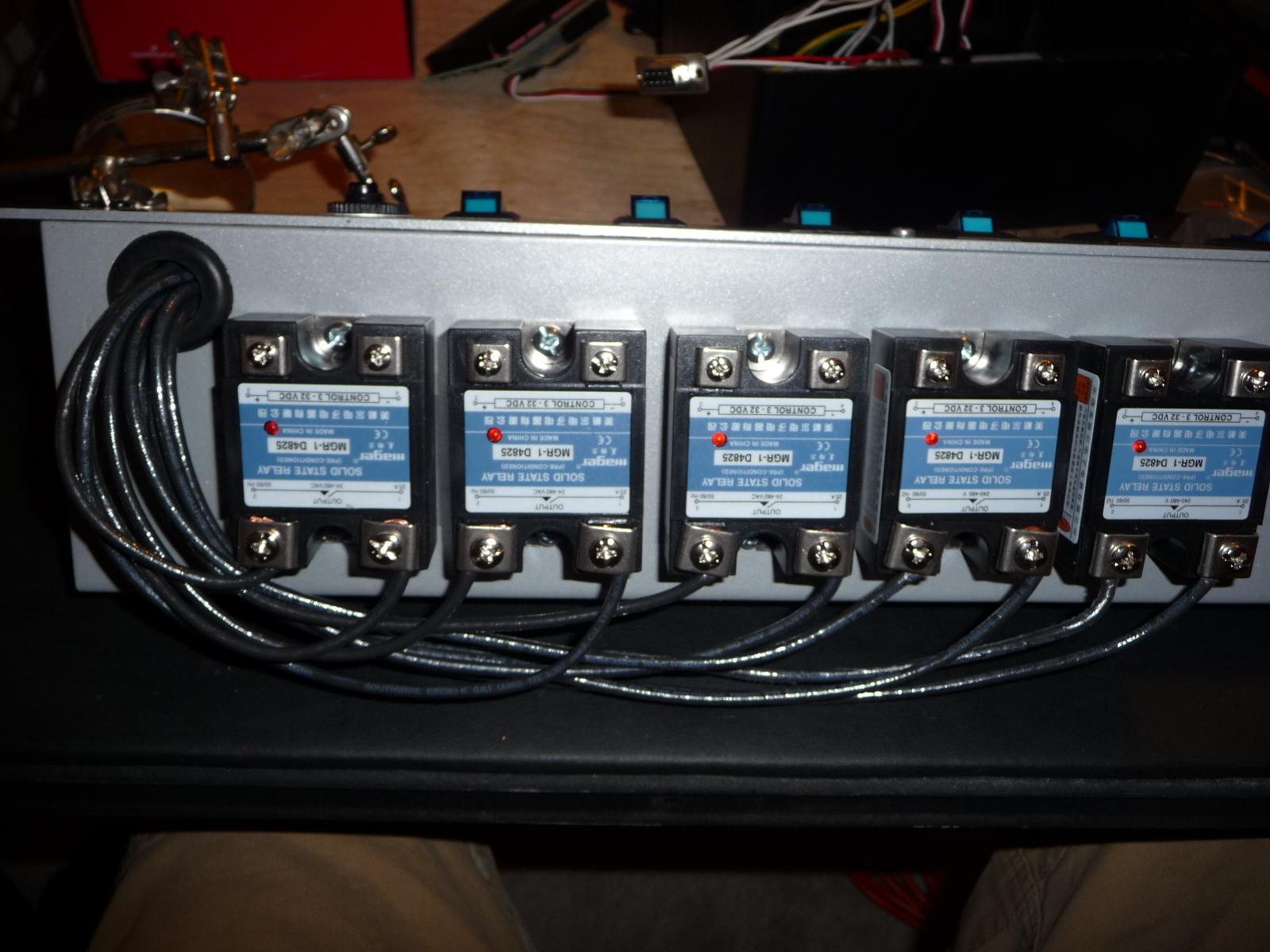 Aquarium timers power strips
