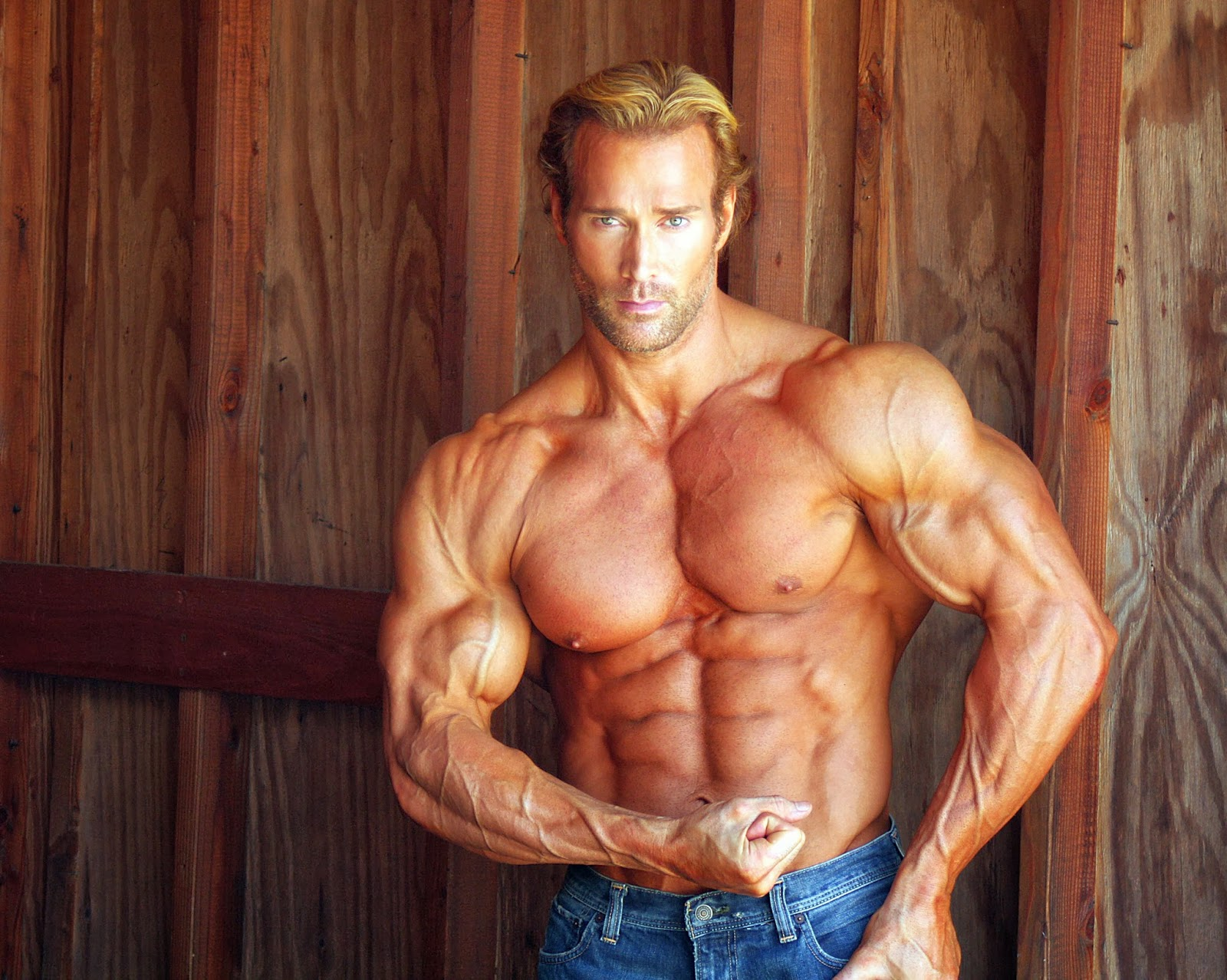 Mike O'Hearn- Male Fitness Model