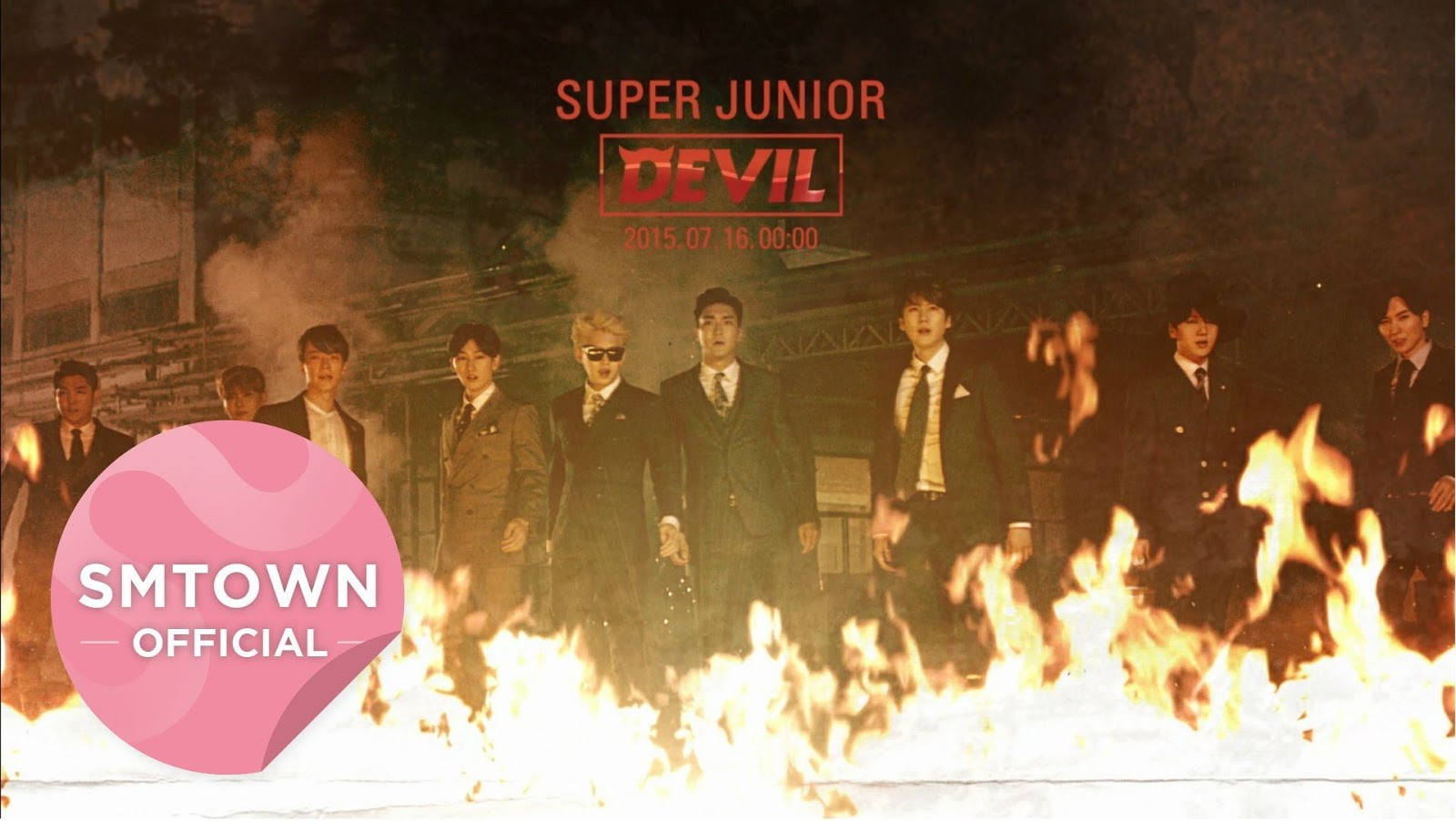 Super Junior Tampil Layaknya Film Action Melalui Teaser MV