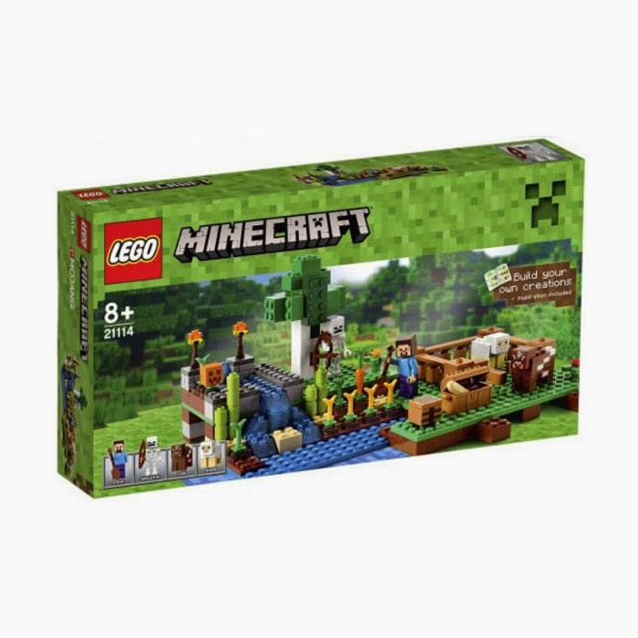 TOYS : JUGUETES - LEGO Minecraft  21114 La Granja | The Farm  Producto Oficial 2014 | A partir de 8 años